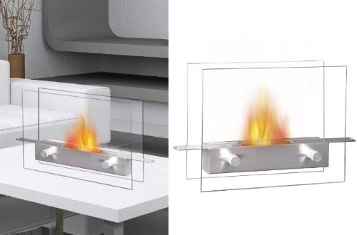 13 Cool Portable Fireplace For Warm Winter Design Swan