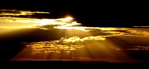 Breathtaking Sunbeams Photography