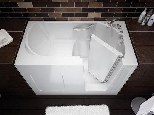 Walk In Bathtub Innovative Small Bathroom Solution