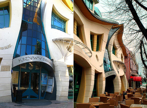 Krzywy Domek Mind Blogging Crooked House In Poland