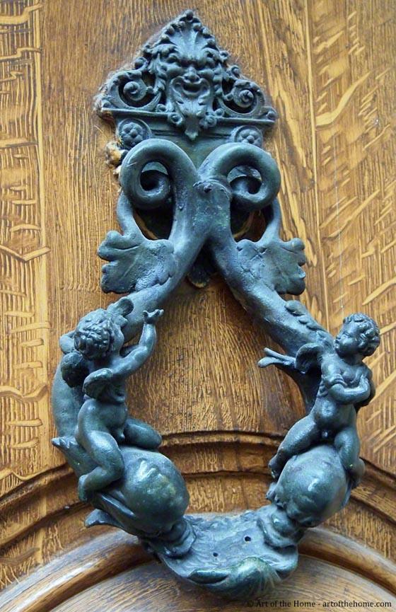 25 Cool And Unusual Door Knockers Design Swan