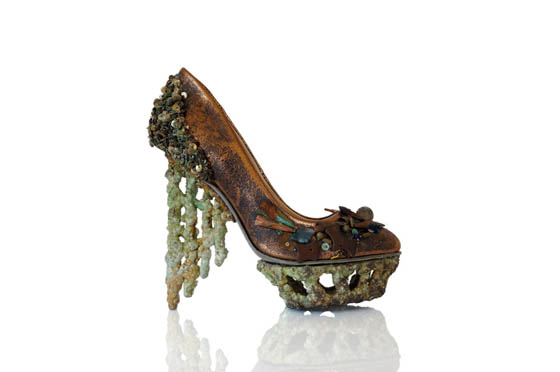 Fantasy Shoe Sculptures By Anastasia Radevich Design Swan