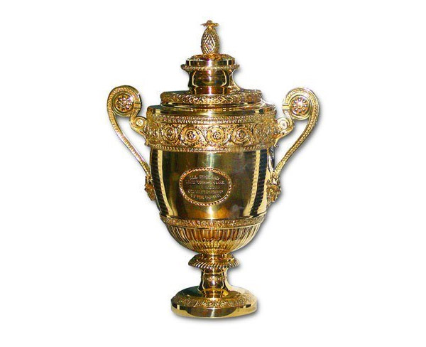Image result for wimbledon trophy