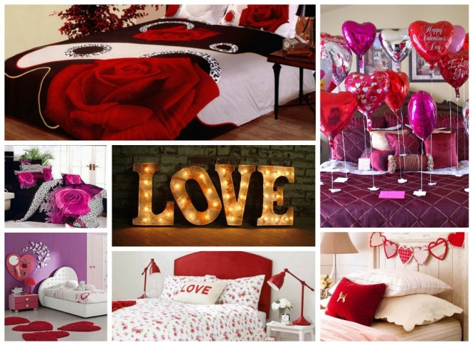 Bedroom Valentines Day Decoration Ideas