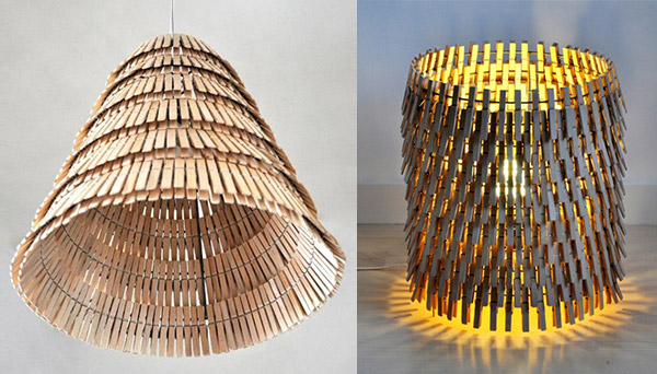 20 Fantastic Recycled And Upcycled Lamps Chandeliers Ideas