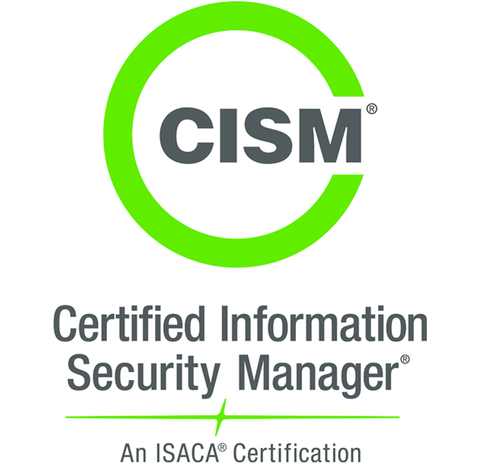 Information Systems Audit and Control Association (ISACA) certifications are globally accepted and recognized, and are known for helping candidates combine the achievement of passing an exam with credit for their work and educational experience. The key certifications offered by ISACA are Certified Information Security Manager (CISM) and Certified Information Systems Auditor (CISA). Other certifications offered include Certified in the Governance of Enterprise IT (CGEIT) and Certified in Risk and Information Systems Control (CRISC). Description This certification is for candidates who have an inclination towards organizational security and want to demonstrate the ability to create a relationship between an information security program and broader business goals and objectives. This certification ensures knowledge of information security, as well as development and management of an information security program. Prerequisites Candidates must have five years of work experience in the field of information security, with at least three years in the role of information security manager. Exam Certified Information Security Manager (CISM) (200 questions, 4 hours, 450 as the passing mark for the exams required) Approximate Cost for Exam Applicant can register for an ISACA exam via online registration or a hard copy registration form. Note: There is an additional $50 USD processing fee for applying for certification. Cost of online registrations: $490 USD (for ISACA members) and $675 USD (for Non-ISACA members). URL http://www.isaca.org/certification/cism-certified-information-security-manager/pages/default.aspx Available Courses ISACA offers CISM Review courses for various regions. Self-Study Material CISM exam preparation, including prep resources, certification job practice, terminology, a glossary, study material and review courses in required area. Online Practice Tests CISM Self-Assessment Exam Image Source: ISACA