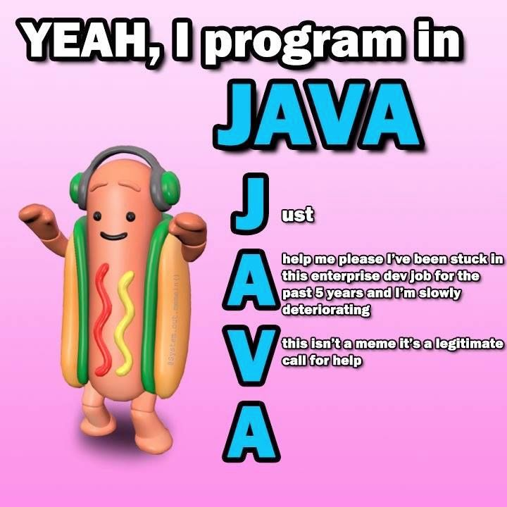 C Is My Favorite Version Of Java That Only Works On Windows