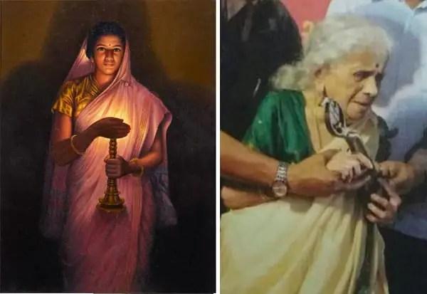 'குளோ ஆப் ஹோப்' ஓவிய பெண் மறைவு