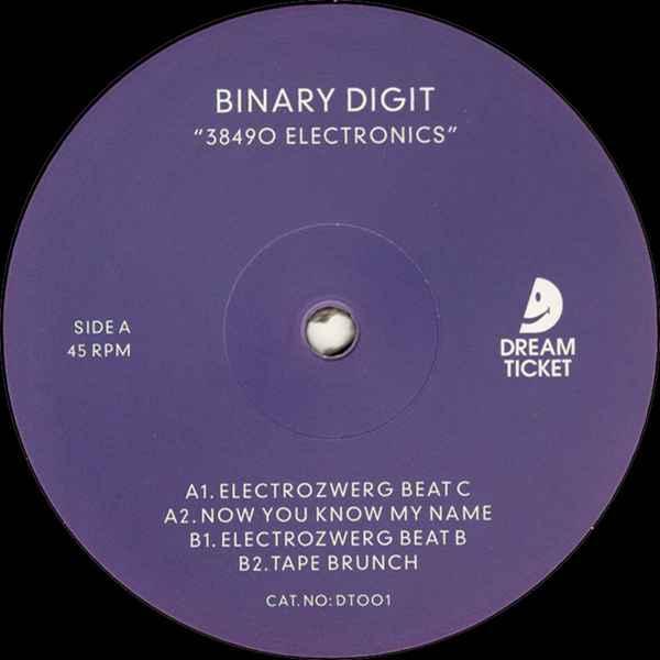 Binary Digit - 38490 Electronics album cover