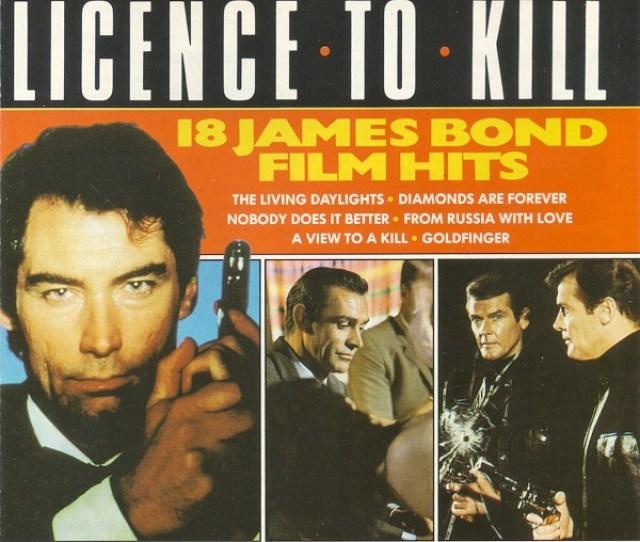 London Starlight Orchestra Licence To Kill 18 James Bond Film Hits Cd Album Discogs