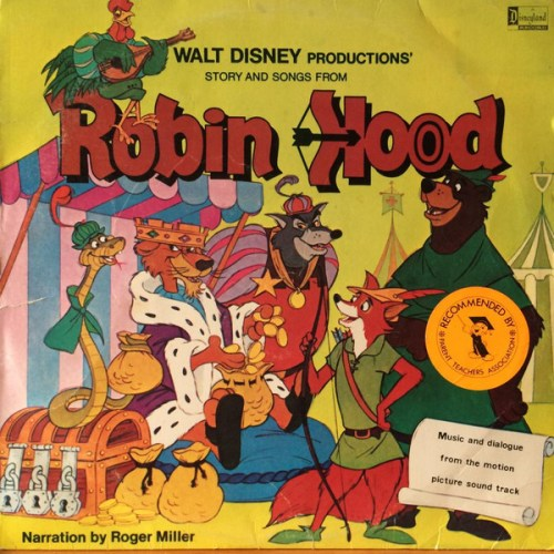 Roger Miller, Walt Disney - Story And Songs From Robin Hood (1980, Purple Labels, Vinyl) | Discogs