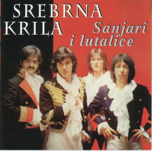 """Omot kompilacije """"Sanjari i lutalice"""" grupe """"Srebrna krila"""" iz 1998. godine."""