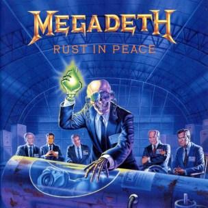 Bilderesultat for Megadeth rust in peace