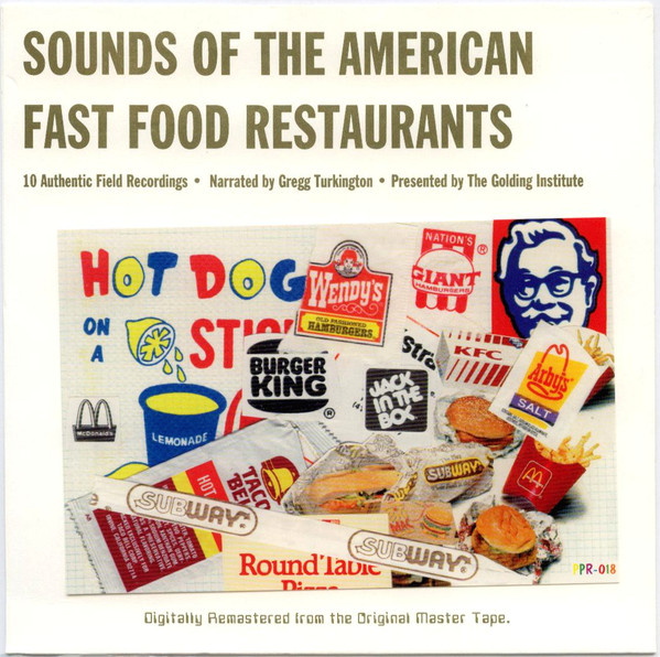 The Golding Institute - Sounds Of The American Fast Food ...