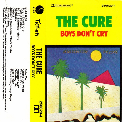 The Cure - Boys Don't Cry (1984, Cassette) | Discogs