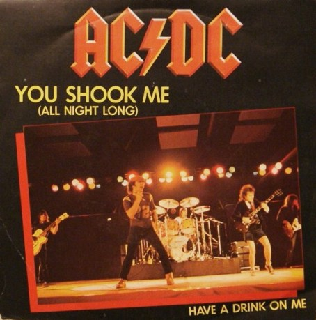 Image result for you shook me all night long