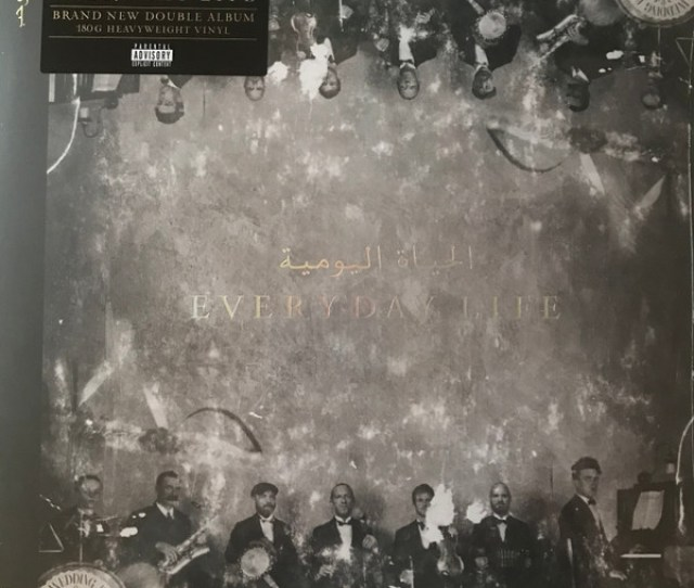 Coldplay Everyday Life  G Vinyl Discogs