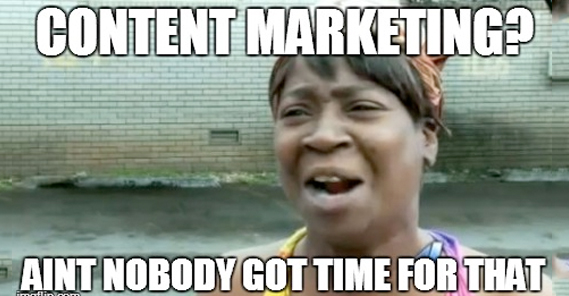 Image result for content marketing meme