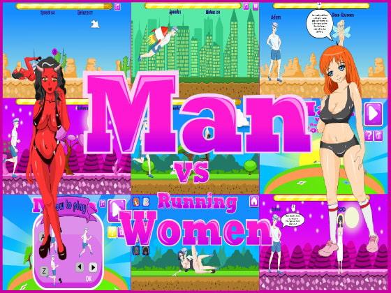 [Xaxxe] Man vs running women
