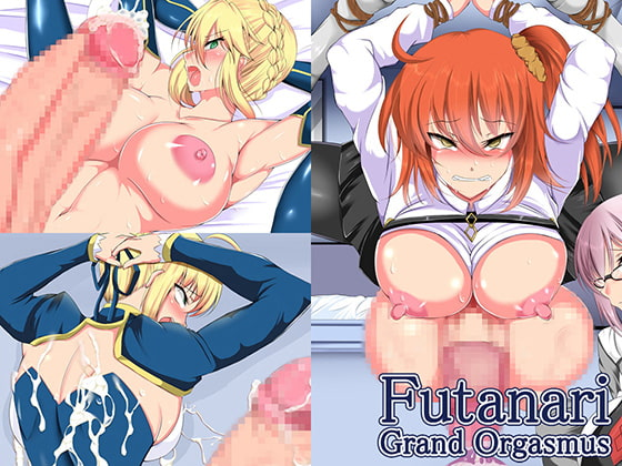 [ぷちオタ落描き] Futanari Grand Orgasmus