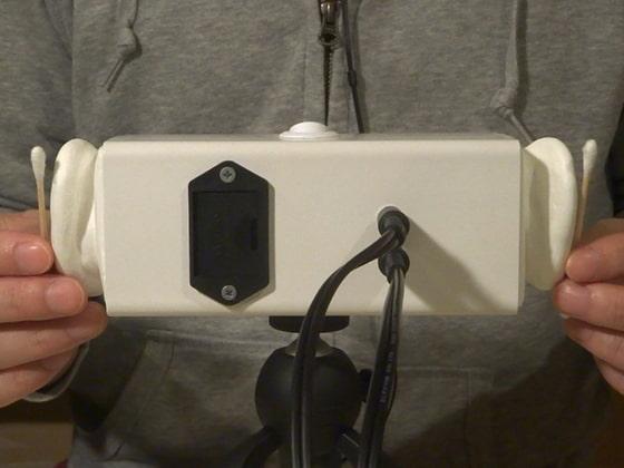 [umino ASMR] 【声なし】4種類の綿棒耳かき (+3種類の比較音声) / SR3D