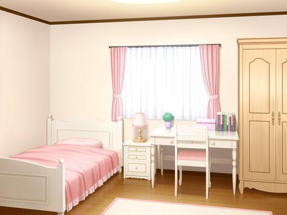 [アトリエてっち] フリー背景素材 住宅 部屋3