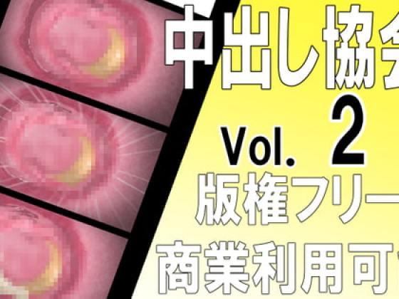 [中出し協会] 【版権フリー】中出し断面図エロアニメ素材セット vol.2【商業利用可能】