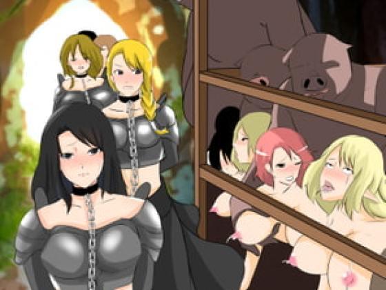 [しまかわ] 雌隷牧場~堕ちた女騎士篇~