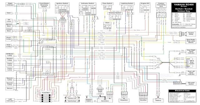 1974 yamaha rd 350 wiring diagram | hobbiesxstyle  hobbiesxstyle