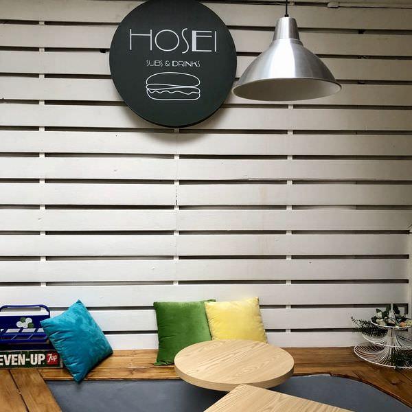 「台北松山區」寵物友善的餐廳「HOSEI subs&drinks 」很適合待上一整天!