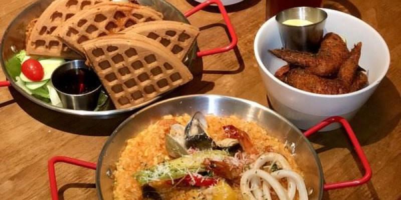 「新竹東區」朋友聚餐的新首選~必吃楓糖鬆餅炸雞及紐澳良海鮮飯「LALA Kitchen」