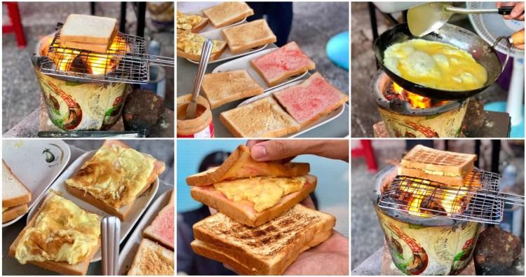 【台南美食】武廟阿嬤手工碳烤三明治|飄香超過一甲子的好味道,到訪武廟必吃的美食