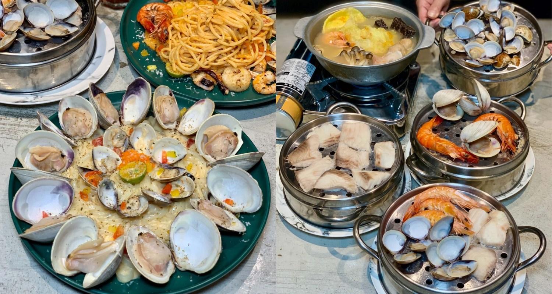 【台中美食】8德司 一中街超人氣的創意餐館,蒸煮鍋、浮誇系義大利麵一次享有,內用還有雞湯可以喝到飽!