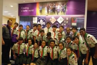 DSG @ World Scout Bureau