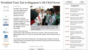 Dragon Scouts featured in ST Online