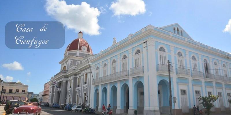 古巴西恩富戈斯住宿分享  通往主廣場上的民宿