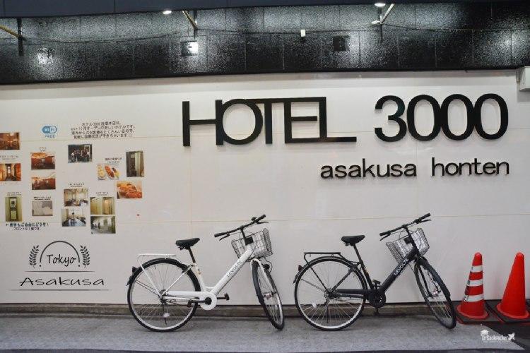 淺草住宿推薦 | 新仲見世上的平價青旅 Hotel 3000