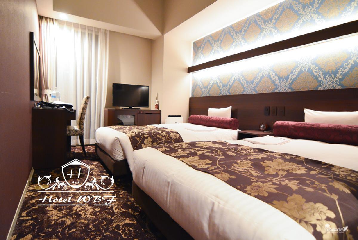 北海道札幌住宿推薦   大通站 狸小路走路只要2分鐘的 WBF Hotel