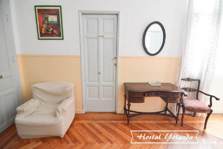 西班牙馬德里住宿推薦 | 近太陽門廣場的單人旅館 Hostal Yolanda