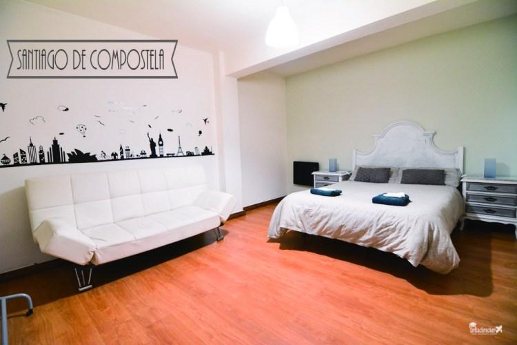 西班牙朝聖之路住宿推薦 | 朝聖之路終點 聖地亞哥-德孔波斯特拉 超溫馨的Airbnb