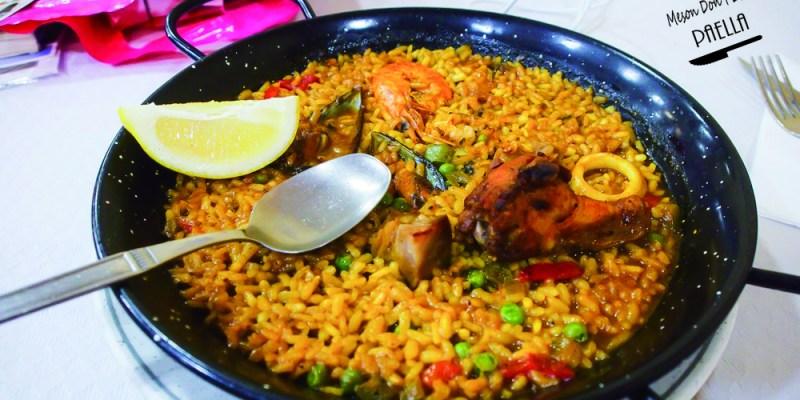 西班牙薩拉曼卡美食   當地人吃的平價海鮮燉飯 Meson Don Pepe