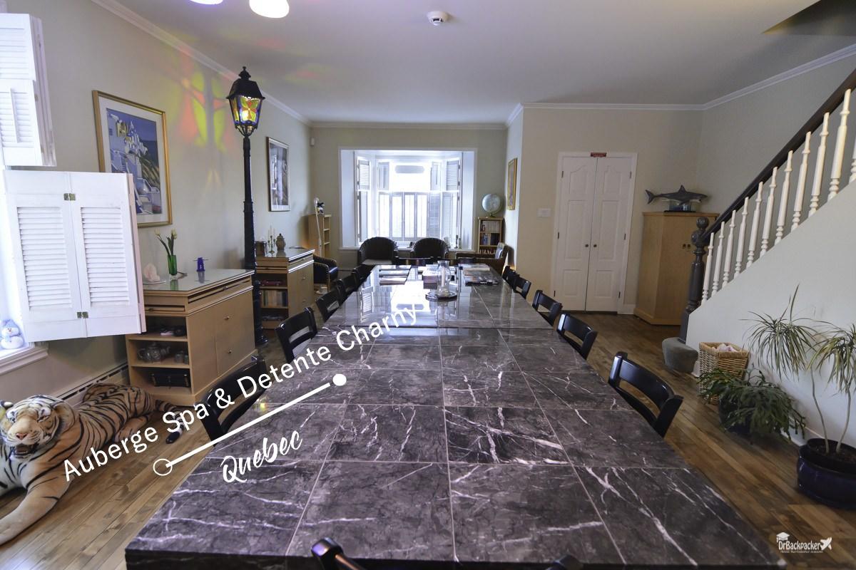 魁北克住宿推薦    主人熱情且早餐豐盛的 Auberge Spa & Détente Charny