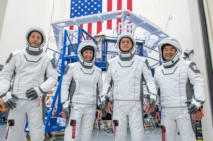 How to watch SpaceX launch four astronauts on a journey to the ISS this week