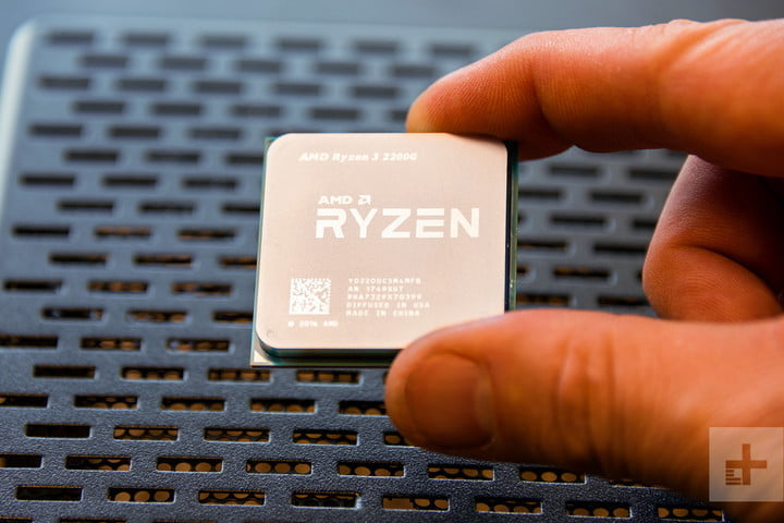 AMD Ryzen 5 2400G & Ryzen 3 2200G Review fingers