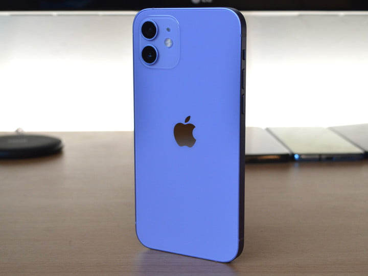 hands on with purple iphone 12 4