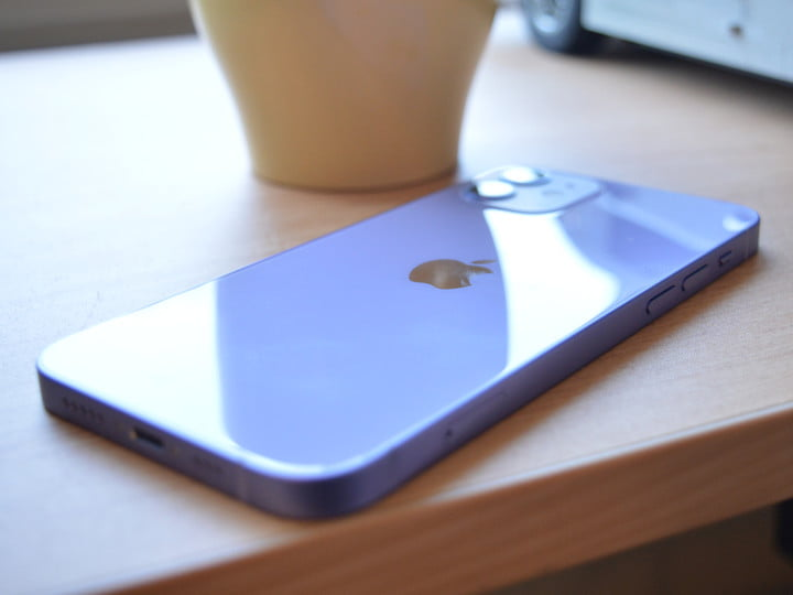 hands on with purple iphone 12 8