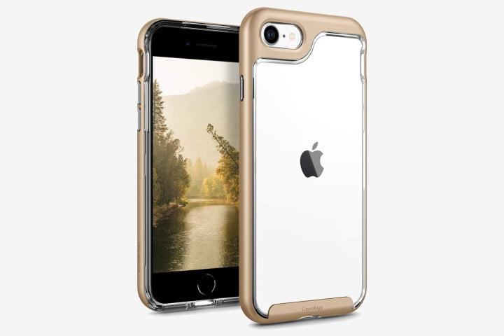 iPhone 8 Caseology Skyfall case in gold