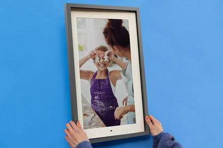 Lenovo Smart Frame review: Simple and with Google Photos in mind