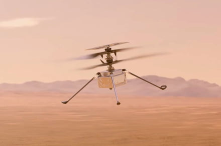 NASA reveals ambitious plan for Mars helicopter's fourth flight