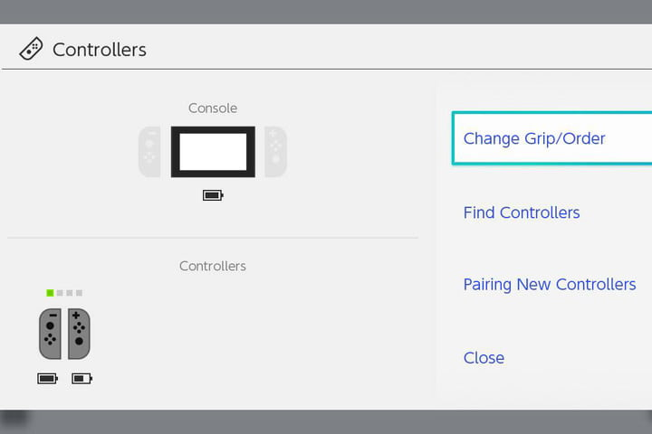 Controller options